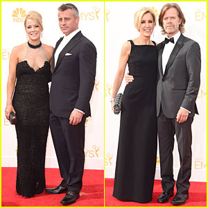 Matt LeBlanc & William H. Macy Are Dashing Nominees at Emmys 2014