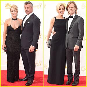 Matt LeBlanc & William H. Macy Are Dashing Nominees at Emmys 2014