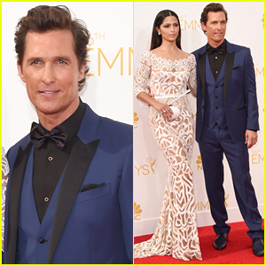 Matthew McConaughey Arrives at Emmys 2014, Gets Told to Go Home By Jimmy Kimmel!