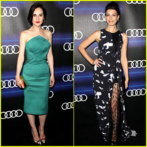 Michelle Dockery & Jessica Pare Bring the Drama to Audi Party!