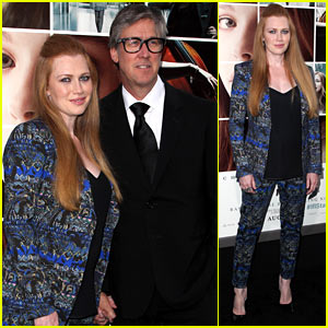 Mireille Enos Debuts Post-Baby Body at 'If I Stay' Premiere!