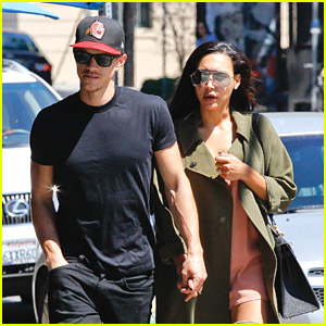 Naya Rivera & Husband Ryan Dorsey Grab Late Lunch at Birds Cafe