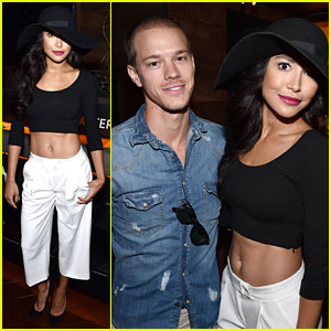 Naya Rivera & Husband Ryan Dorsey Make First Official Appearance Together!