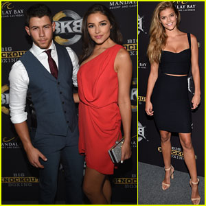 Nick Jonas & Olivia Culpo Make a Picture Perfect Couple at BKB!