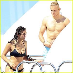 Nina Dobrev & Alexander Ludwig Bare Amazing Bodies in Ibiza!