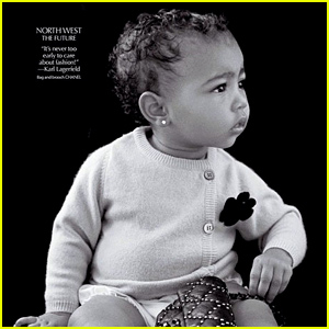 North West Makes Her Modeling Debut at Age 1 - See the Photo!