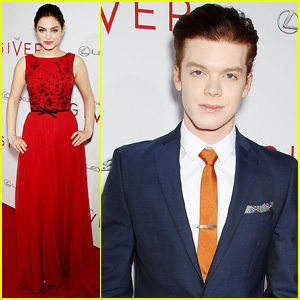 Odeya Rush & Cameron Monaghan Bring 'The Giver' to NYC