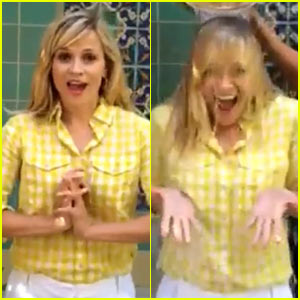 Reese Witherspoon Dedicates Ice Bucket Challenge Video to Friend Just Diagnosed with ALS