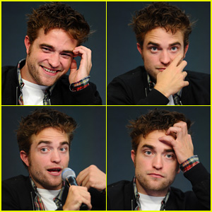 Here's an Evolution of Robert Pattinson's Epic Facial Expressions at 'The Rover' Apple Store Event