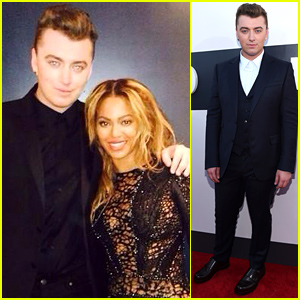Sam Smith Meets Up with Beyonce Backstage at the MTV VMAs 2014 (Photo)