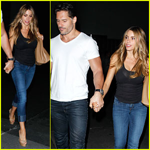 Sofia Vergara & Joe Manganiello Support Sarah Hyland in 'Hair' at Hollywood Bowl