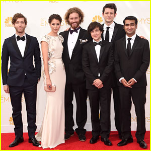 T.J. Miller & the 'Silicon Valley' Cast Make Their Way to Emmys 2014!