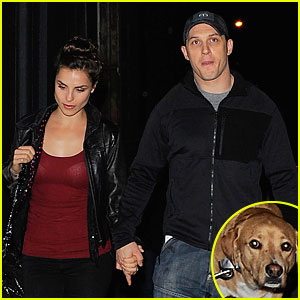 Tom Hardy & Charlotte Riley Hold Hands During Romantic Night Stroll in London!