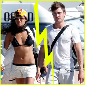 Zac Efron & Michelle Rodriguez Split After Short Su
