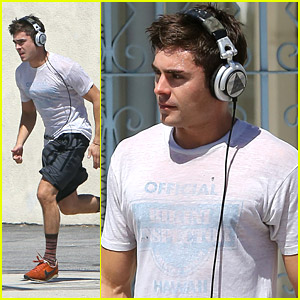 Zac Efron Gets Sweaty on Set of  'We Are Your Friends'