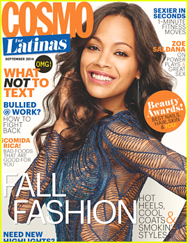 Zoe Saldana Reveals Her Children Will Be Bilingual, Talks Essentials for a Healthy Sex Life