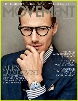 Alex Lundqvist Is a Hunky Male Model for 'Movement' Mag!