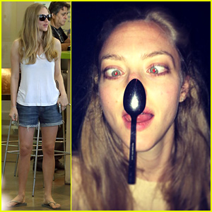 Amanda Seyfried Shares Super Silly Selfie After Learning to Cross Her Eyes