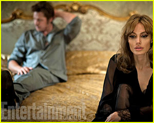 Angelina Jolie & Brad Pitt in 'By the Se