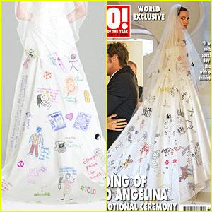 Angelina Jolie Wedding Dress Fashion Dresses