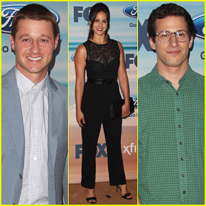 Ben McKenzie & Andy Samberg Are Handsome Fellas at Fox's Fall Eco-Casino Party 2014