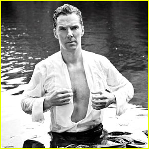 Benedict Cumberbatch Gives Up His Clothes for Charity - See the Sexy
