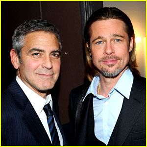 Brad Pitt Missed George Clooney's Wedding Beca