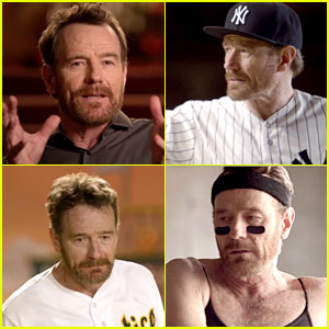 Bryan Cranston's MLB Commercial Finds Him Getting Pied, Doing Ballet, & More!