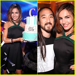 Camilla Belle Has an Early 28th Birthday Party in Las Vegas
