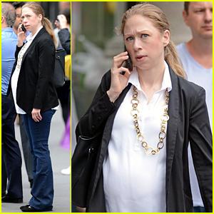 Chelsea Clinton's Baby Bump is Getting So Big!