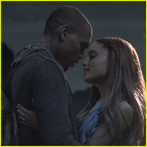 Chris Brown & Ariana Grande Are Enchanted Lovers In 'Don�t Be Gone Too Long' Music Video-Watch Now!
