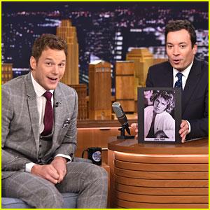 Chris Pratt & Jimmy Fallon Play 'Word Sneak,' Put Ridiculous Words Into Hilarious Conversation - Watch Now!