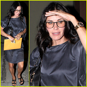 Courteney Cox Celebrates Some Big News with a Family Dinner