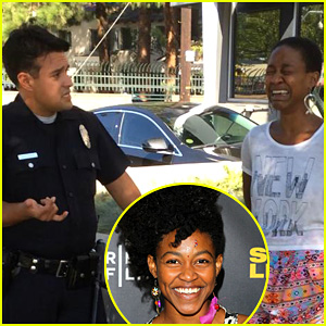 'Django Unchained' Actress Daniele Watts Handcuffed for Kissing White Husband?