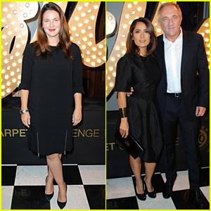 Drew Barrymore & Salma Hayek Celebrate with Stella McCartney