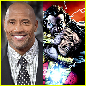 Dwayne 'The Rock' Johnson Playing Supervillain Black Adam in DC's 'Shazam' Superhero Film!
