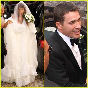 Elisabetta Canalis Marries Surgeon Brian Perri