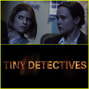 Ellen Page & Kate Mara Spoof 'True Detective' with 'Tiny Detectives' - Watch Now!