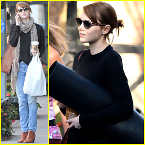 Emma Stone Sees Life Like a Woody Allen Movie