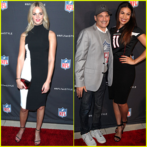 Erin Heatherton & Jordin Sparks Rep Their Favorite Teams at NFL Fashion Launch!