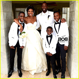 Gabrielle Union Shares Her Wedding Photos - See Her Dress!