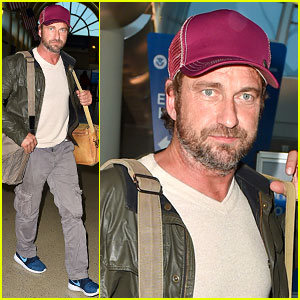 Gerard Butler Is Back in the States After His Trip to London