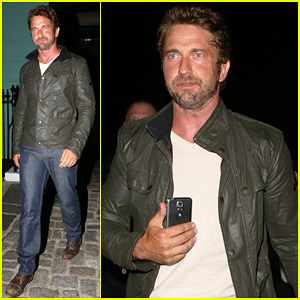 Gerard Butler Steps Out for GQ Men of the Year Awards 2014 After Party at Primrose Hill Gallery!