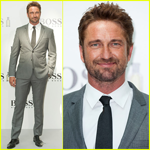 Gerard Butler Is Debonair in a Suit at t