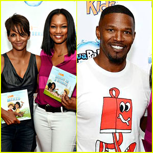 Halle Berry & Jamie Foxx Support Garcelle Beauvais' Book Launch
