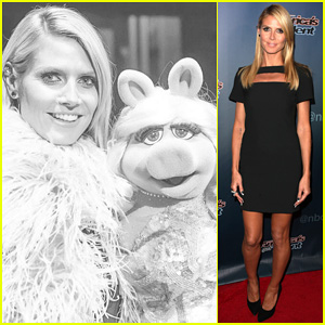 Heidi Klum & Mel B Perform 'It's Raining Men' with Miss Piggy on 'America's Got Talent' - Watch Here!