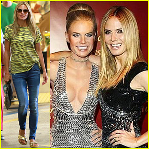 Heidi Klum vs. Her Wax Figure: Can You Tell Which is Which!?