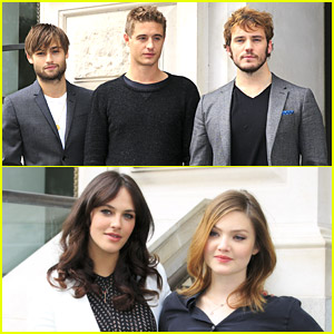 Douglas Booth & Sam Claflin: 'The Riot Club' Photo Call with Holliday Grainger
