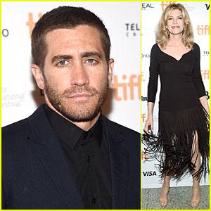 Jake Gyllenhaal Is a Handsome 'Nightcrawler' at TIFF