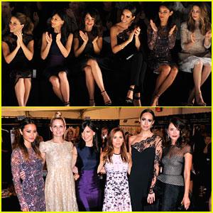Jennifer Morrison & Sophia Bush Get Their Fashion Fix with Monique Lhuillier!
